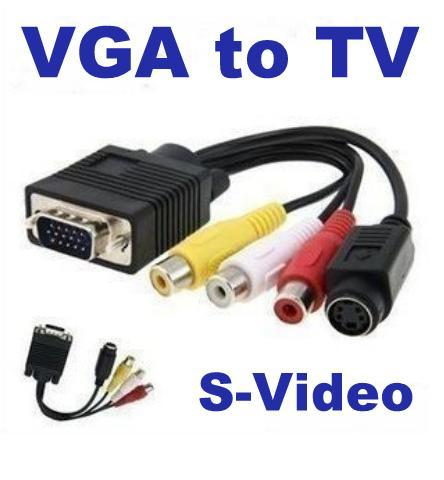 Vga Adapter For Laptop to tv Computer Laptop Vga to tv