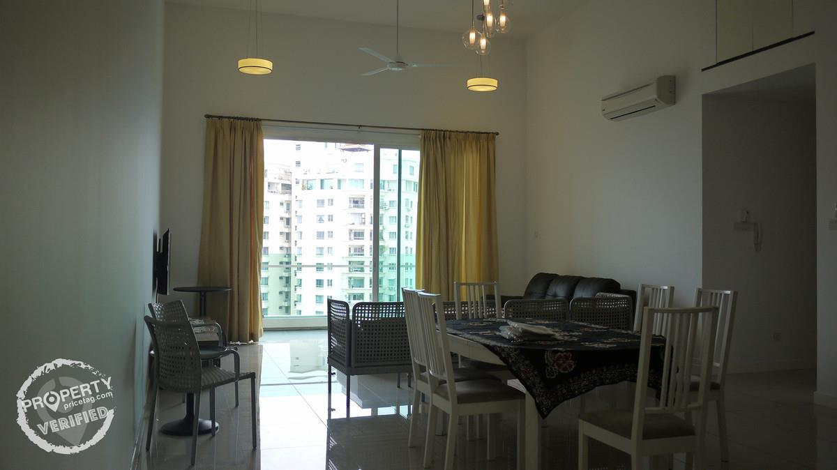 Condo Penthouse for Rent at The Park Residences, Bangsar South