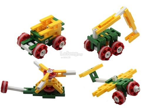 CONSTRUCTION BUILDING BLOCK SMALL SUITABLE FOR AGE 2+ YEARS