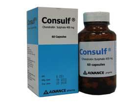 CONSULF CHONDROITIN SULPHATE 400MG 60's