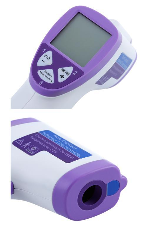 NON-CONTACT INFRARED LCD MULTI-FUNCTIONAL DIGITAL THERMOMETER