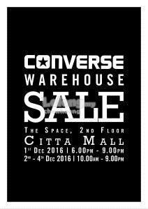 Converse Warehouse Sale Clearance