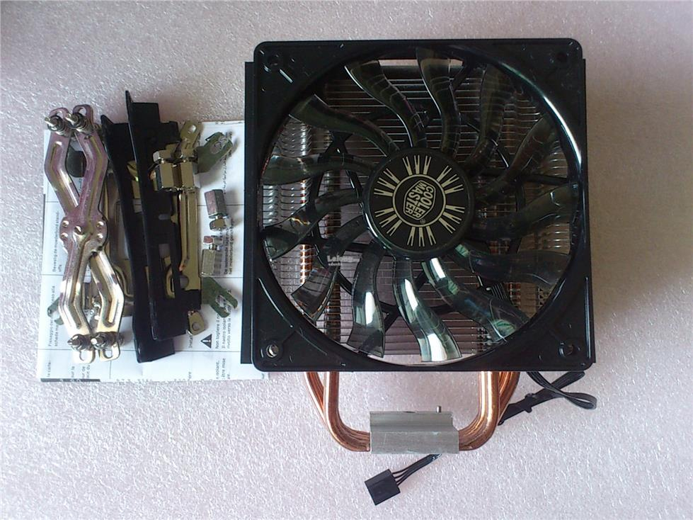 COOLER MASTER HYPER 412 SLIM 412s Cpu Cooler for intel amd