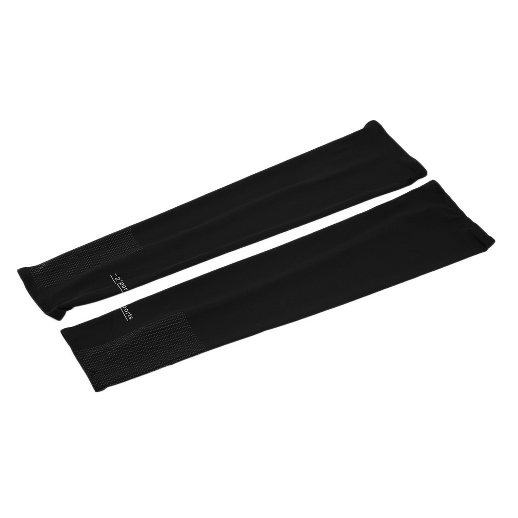 Cooling UV Arm Sleeves Sun Protective Cover Half Hand Golf Bike Drivin..