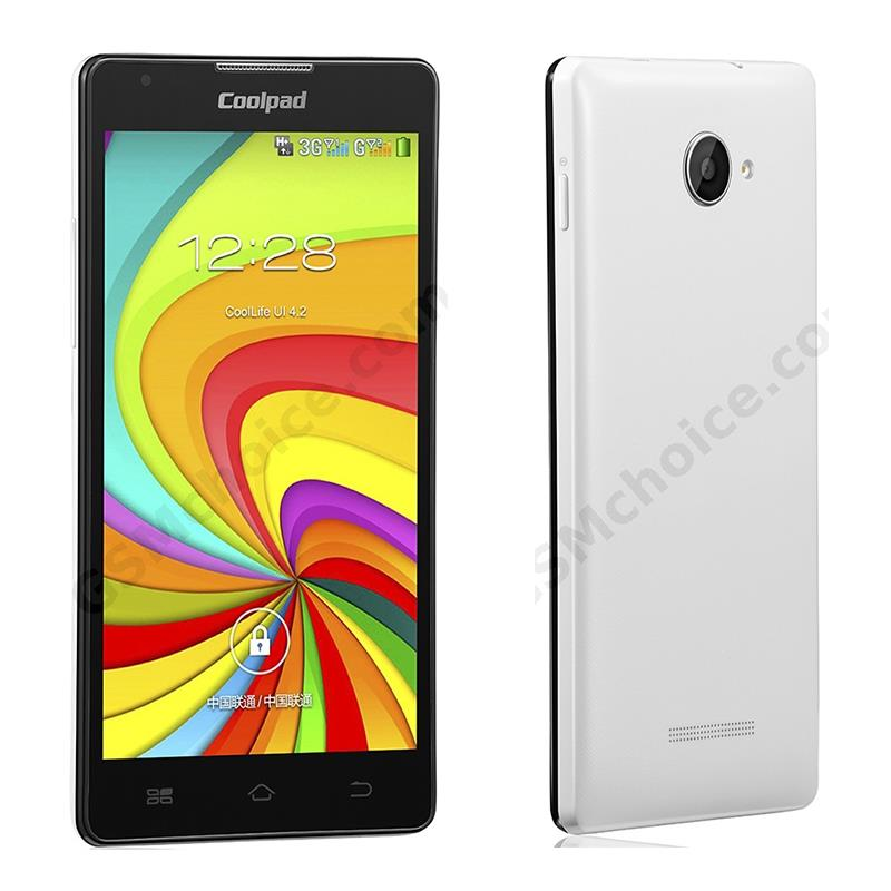 Coolpad 7270 4GB ROM 5.0 Inch Screen Quad Cores Cellphone Android 4.2