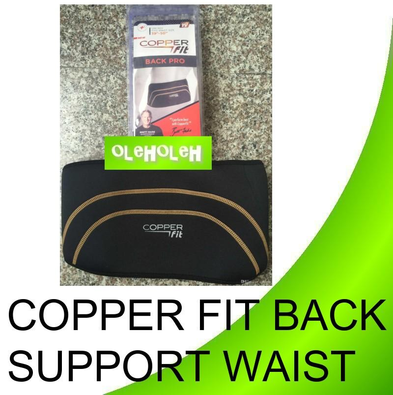 Copper Fit Back Pro Back Support Waist Unisex