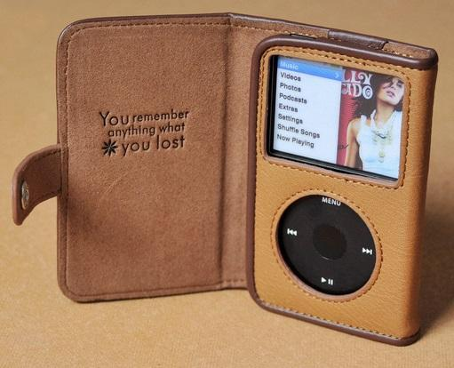 Ipad Classic Book Cover ~ Copton leather case for ipod classic end am