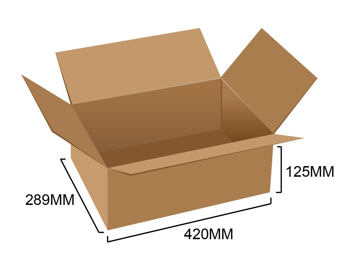 Corrugated Box 16.5' x 11.3' x 5' (5pcs)