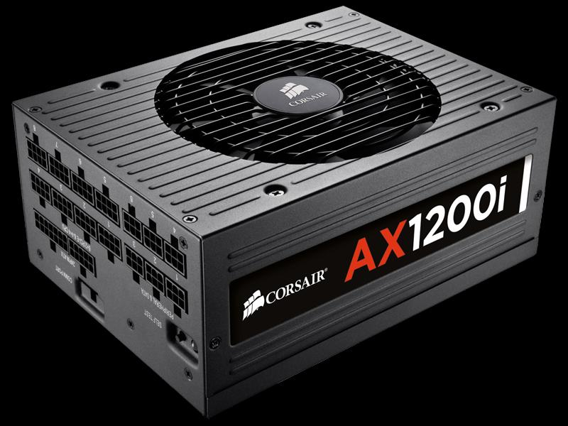 # CORSAIR AX1200i 80Plus Platinum Full Modular PSU #