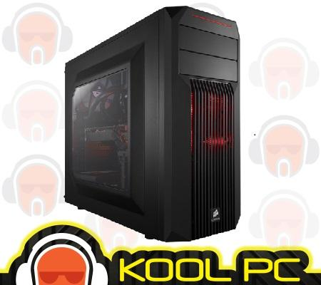 Corsair Carbide Series SPEC-02 Red LED Mid-Tower Gaming Case