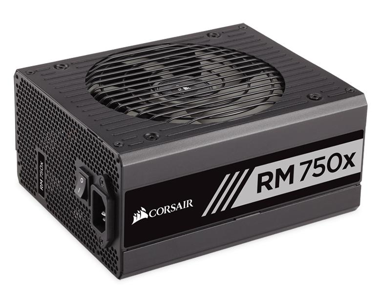 CORSAIR RM750x FULLY MODULAR 80 PLUS GOLD POWER SUPPLY