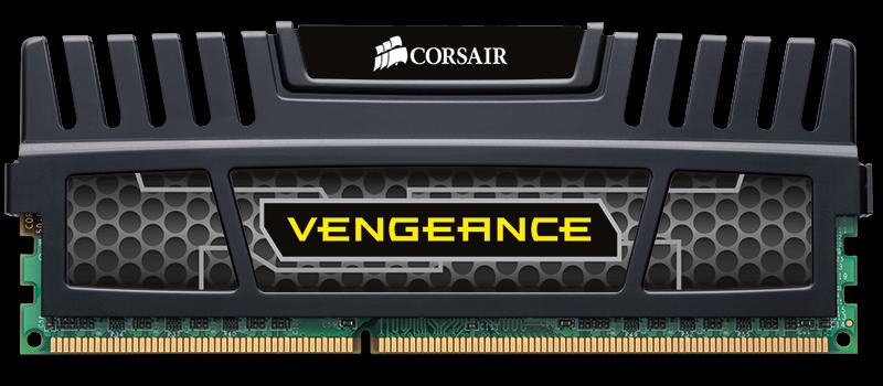 Corsair Vengeance (CMZ4GX3M2A2000C10) 4GB Dual Channel DDR3 Memory Ki