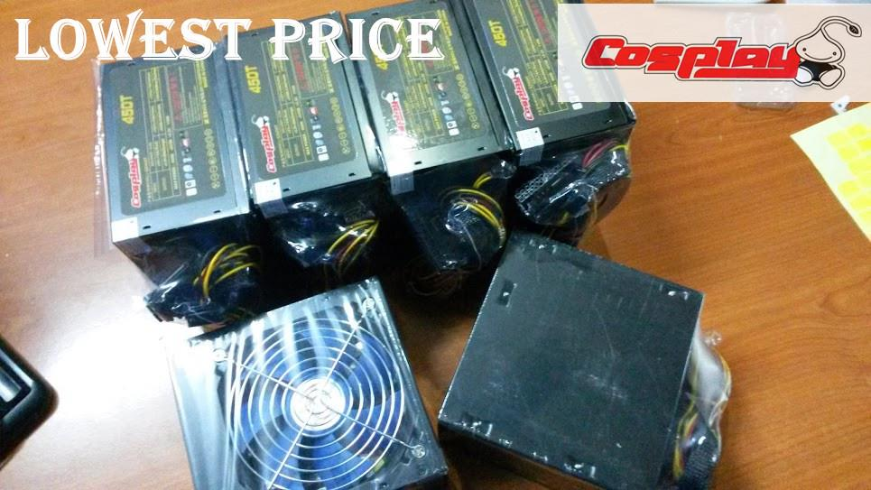 Cosplay Gaming Power Supply 450W Super Offer