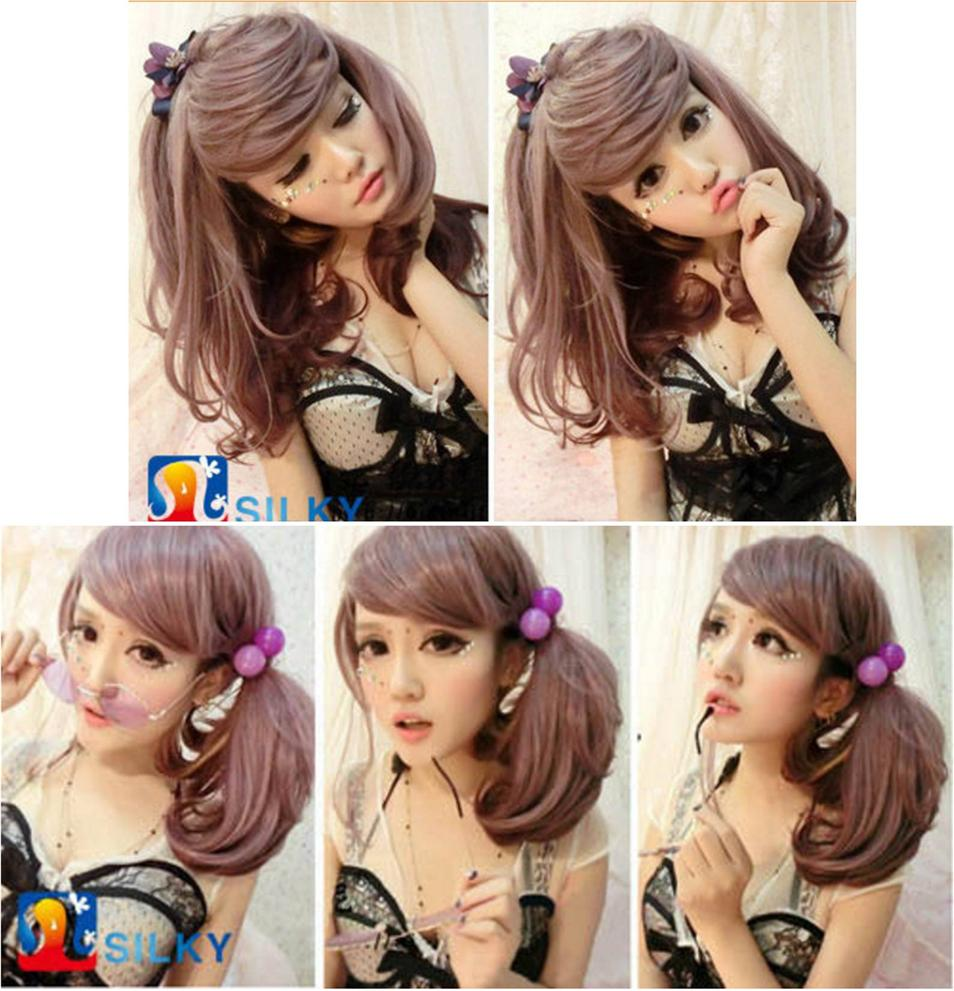 Cosplay hair wig OG457/ready stock/ rambut palsu