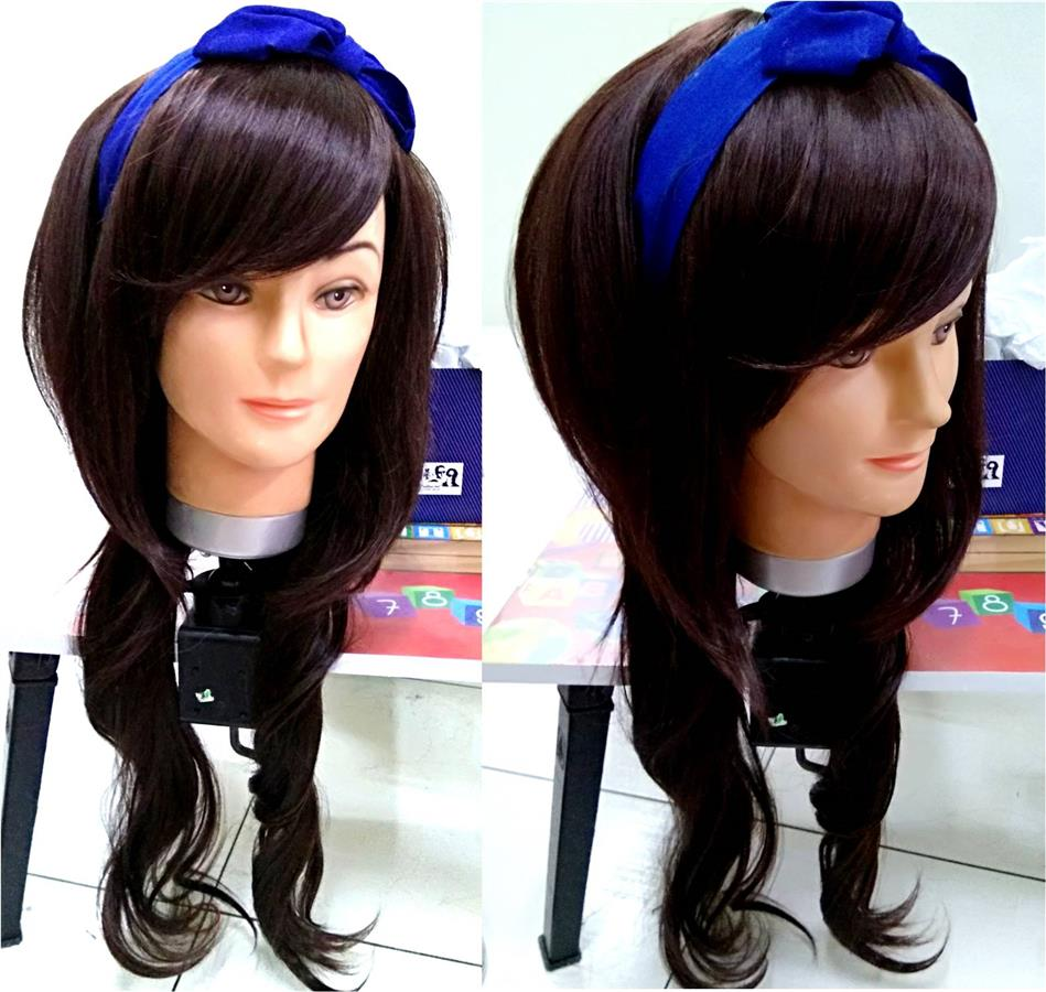 Cosplay hair wig sixties style/  ready stock/ rambut palsu