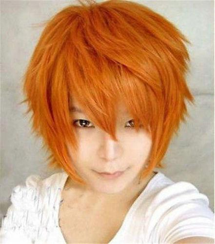 Cosplay men wig1/ less shinning effect/rambut palsu/ ready stock