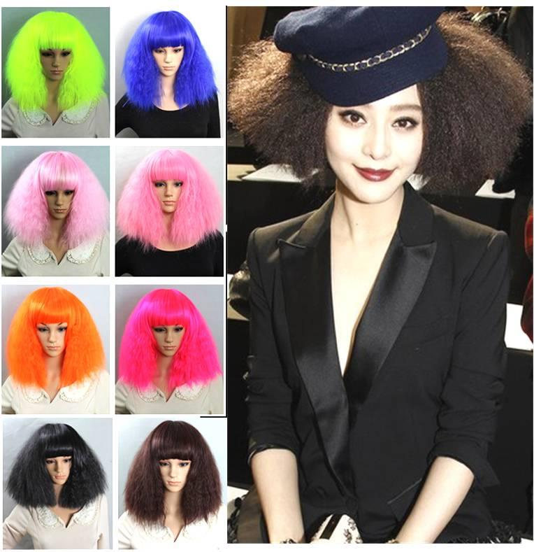 Cosplay party WIG LaDy Gaga /ready stock/ rambut palsu