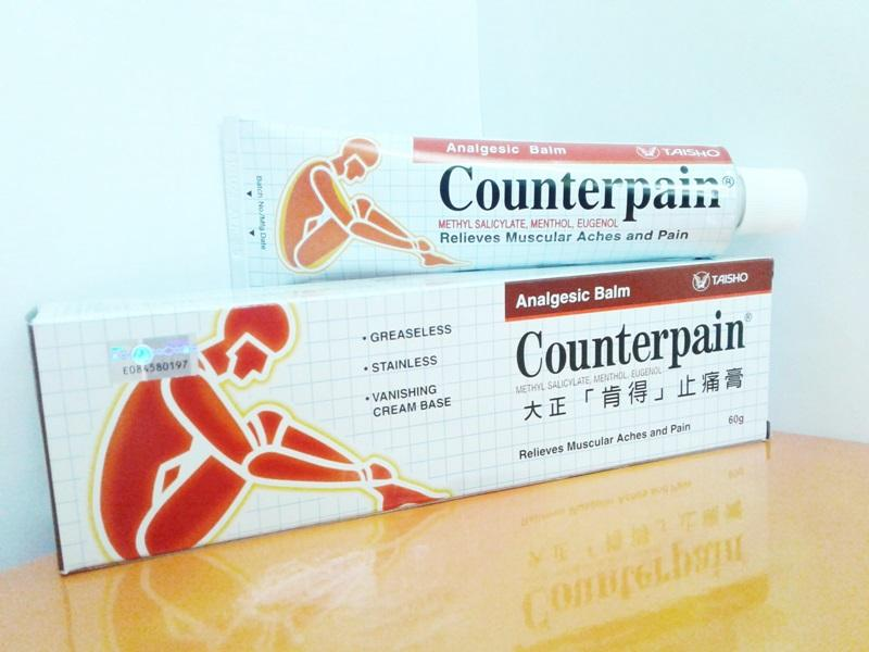 COUNTERPAIN ANALGESIC BALM 60g RELIEVES MUSCULAR ACHES AND PAIN