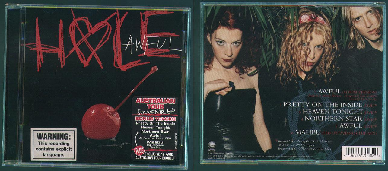 Courtney Love / Hole 'Awful' EP CD