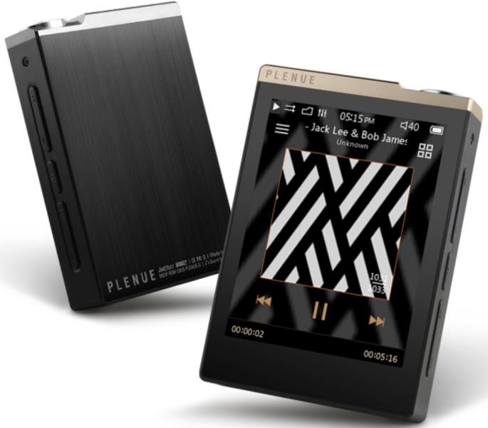 Cowon Plenue D High-Resolution Music Player (Silver Black)
