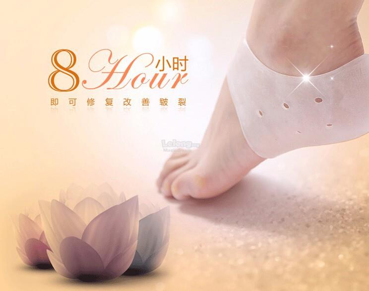 Cracked Foot Care Protectors Socks with hole