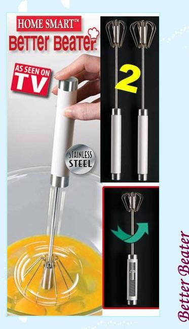 Crazy Sale Better Beater As Seen On TV Handheld Whisk Blender Mixer