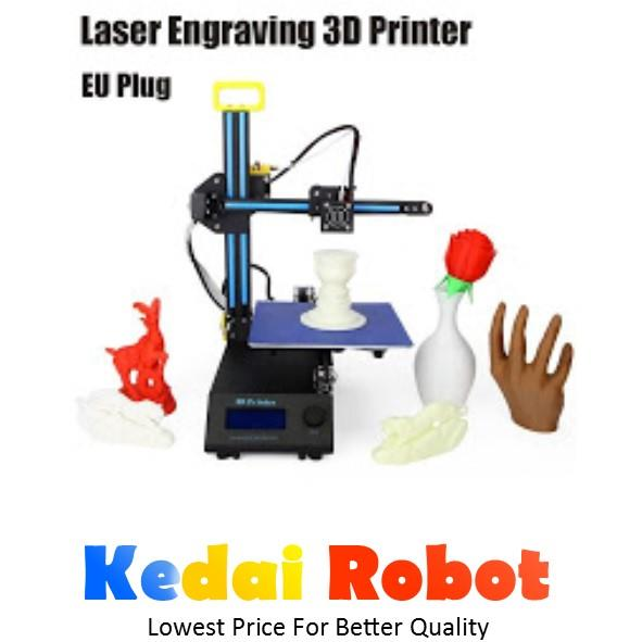Creality CR8 2 in 1 Laser Engraving 3D Printer (Full Assembled)*