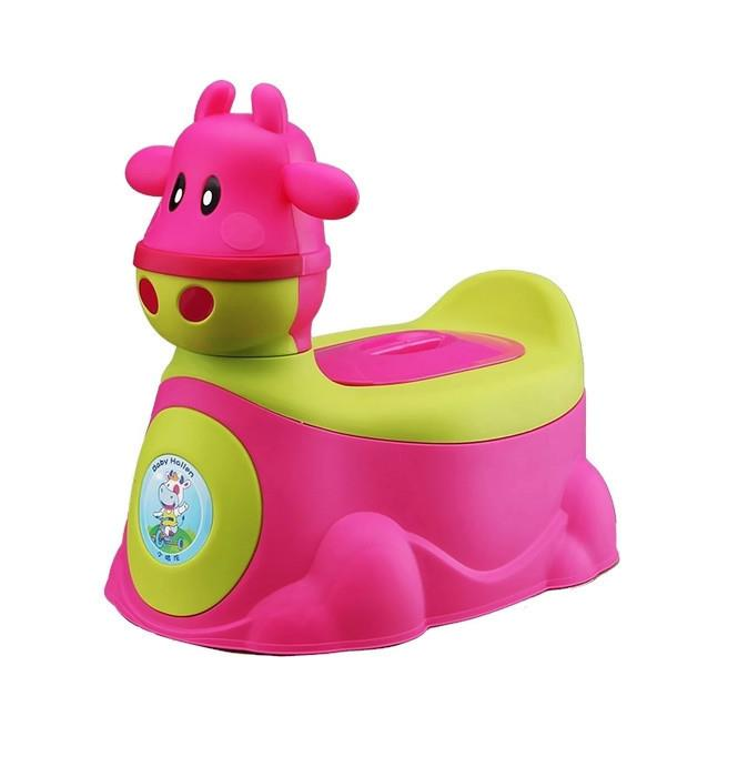Creative 2 in 1 Cow Car with Potty Training (RED)
