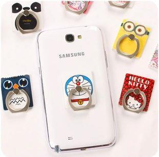 Creative Cartoon Mobile Phone Support Ring