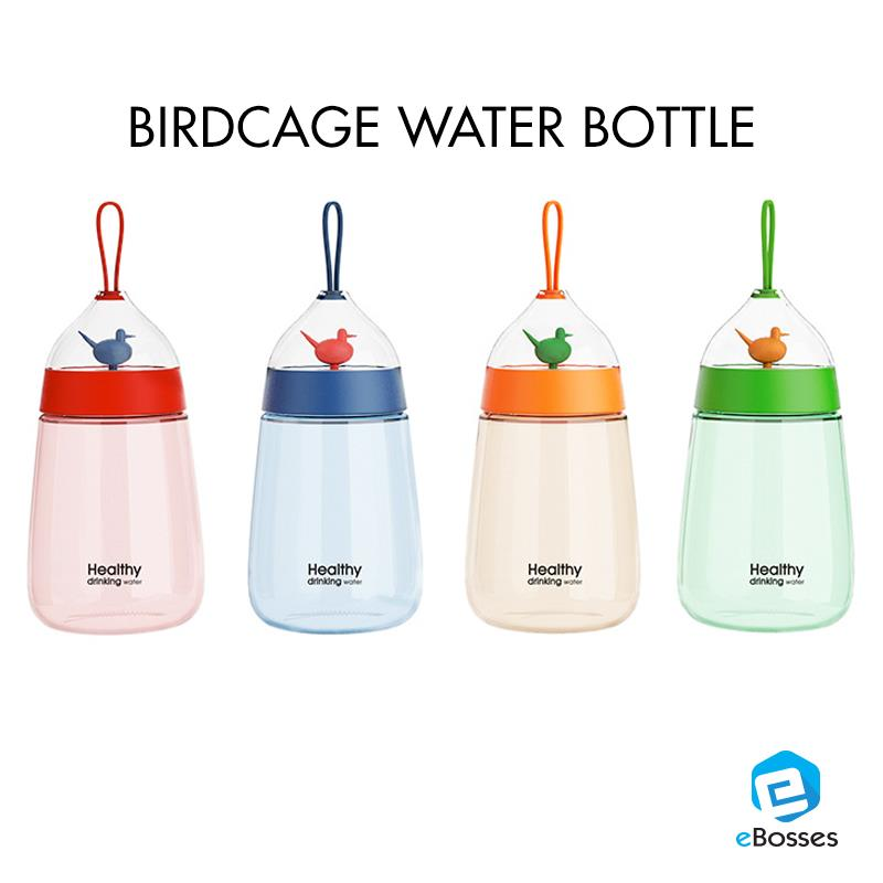 New Creative cute bird cage space bottle 400ml