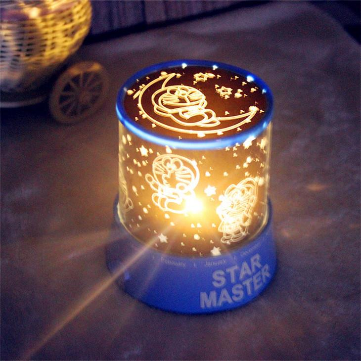 Creative Doraemon Star Projector Lamp