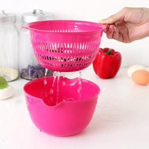 Creative Double Layer Basket & Dripping Basket