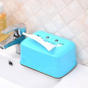 Creative Fashion Smile Face Tissue Box