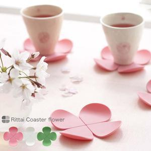 Creative Flower Shape~Anti-hot Silicone Coasters