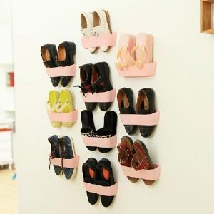 Creative hanging shoe rack wall hang end 1 16 2018 4 28 pm - Range chaussures mural ikea ...