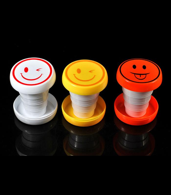 Creative Smile Retractable Cup