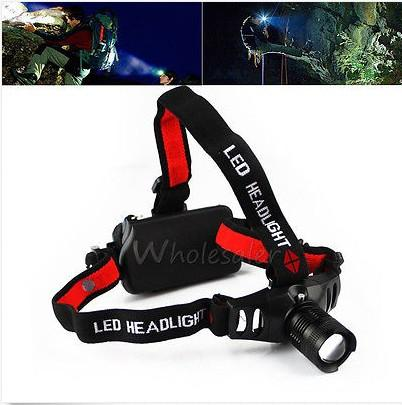 CREE Q5 LED Zoomable HeadLight 3 Mode