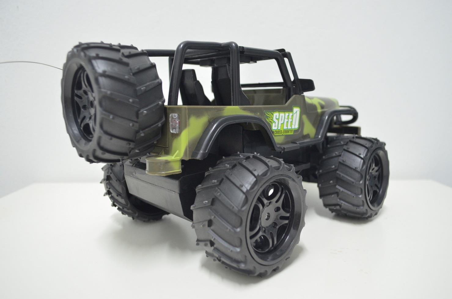 Cross Country Jeep RC Car 1:16 Scale