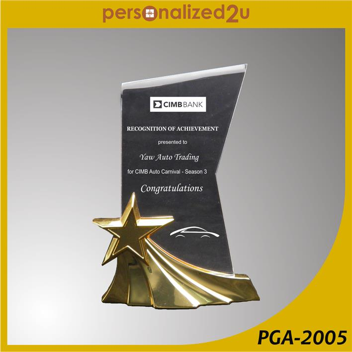 Crystal Gold Awards PGA-2005