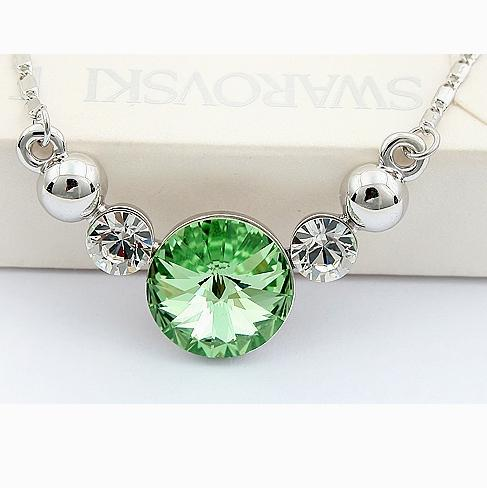 Crystal Pendant Dinner/Party (Green)