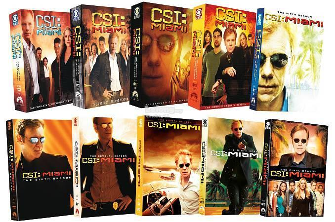CSI Miami - The Complete Series - New DVD