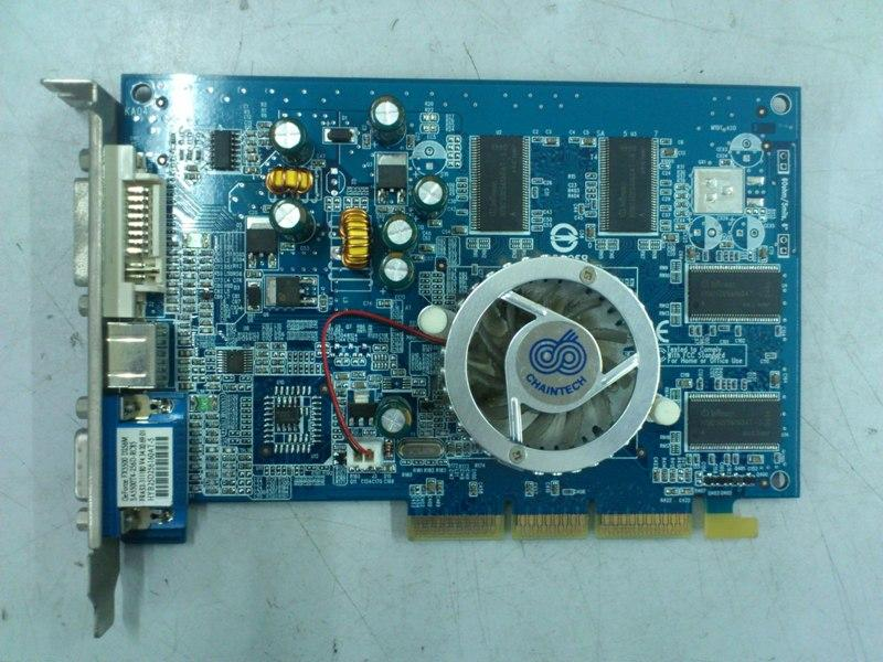 CT GeForce FX5500 256MB AGP Graphic Card 160312