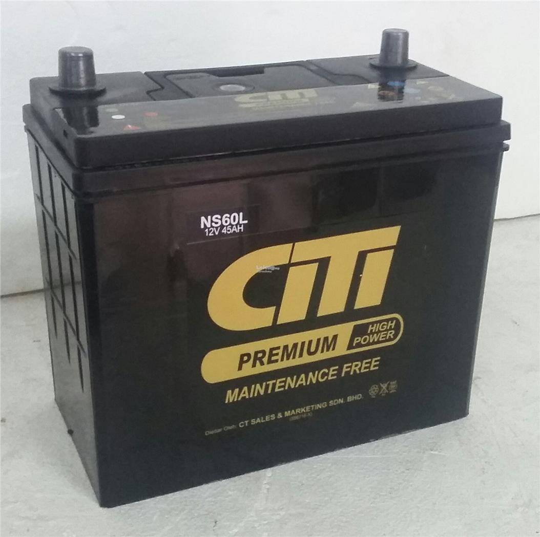 CT Premium Maintenance Free Battery NS60S/LS NS60ST/LST