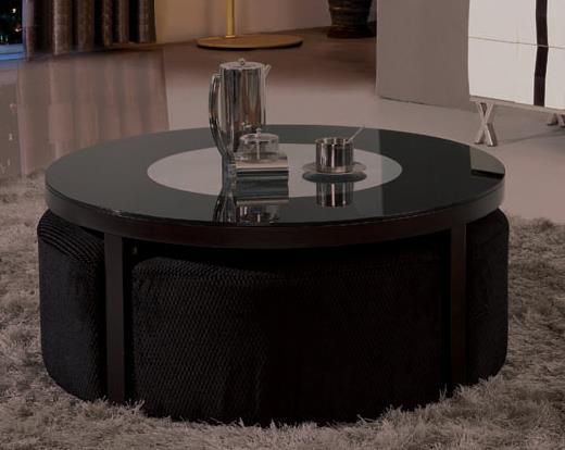 CT9513 Glass TOp Coffee Table