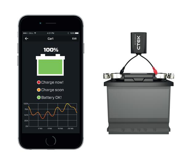 House Battery Monitoring : Ctek sense battery monitor meter sup end pm