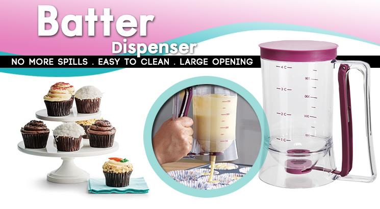 Cupcake/ Egg Tart Specialize Batter Dispenser