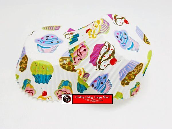 CUPCAKE LINER - PATTERNED (CUTESIES*5)