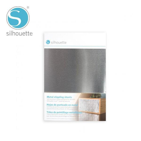 CURIO 7-inch Metal Stippling Sheets
