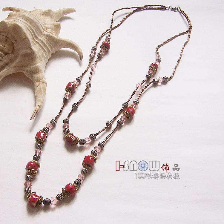 CUSTOM MADE LONG NECKLACE 12