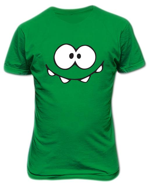 Cut the Rope On Nom T-shirt Green